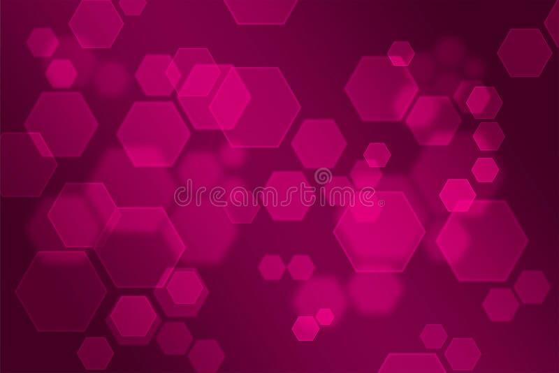 Abstrakcjonistyczny tło, abstrakt jak różowy tło ilustracja wektor