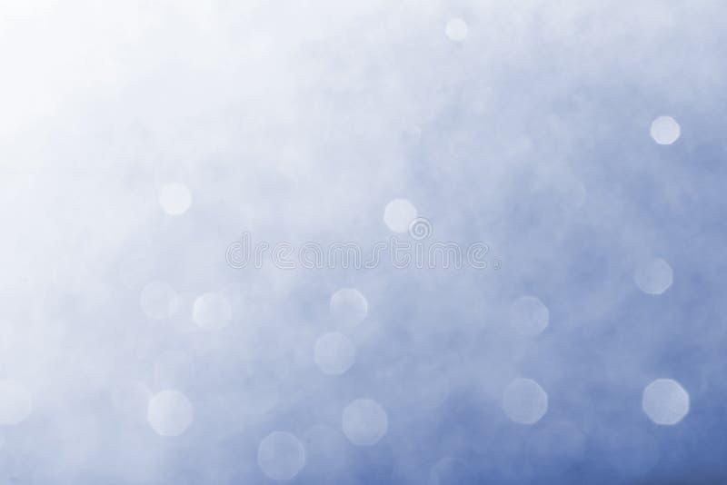 Abstrakcjonistyczny tło błękitny bokeh zdjęcia royalty free