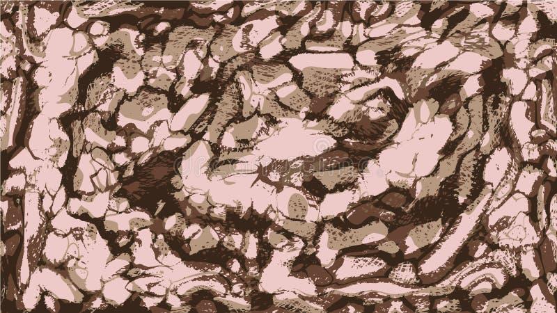 Abstrakcjonistyczny tło chaotyczny brudzi plamy farba ilustracja wektor