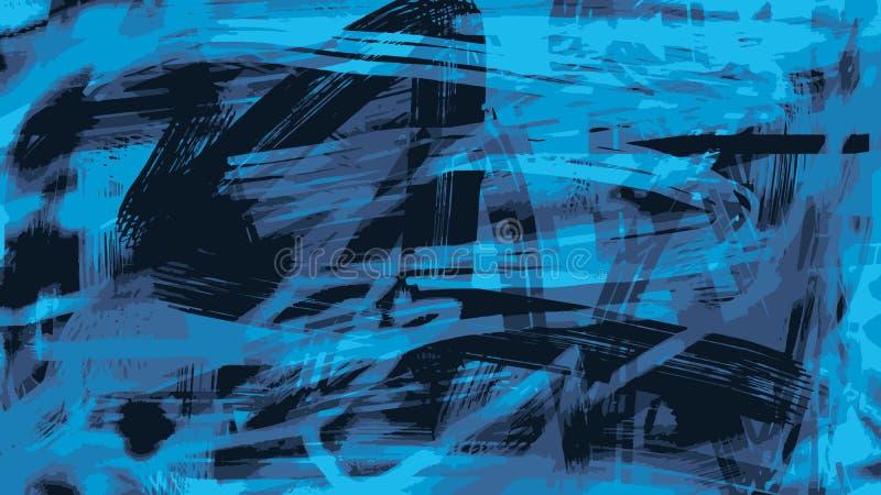Abstrakcjonistyczny tło chaotyczny brudzi plamy farba royalty ilustracja