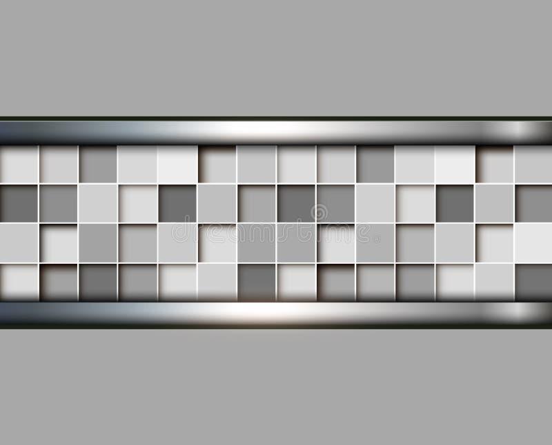 Abstrakcjonistyczny tło 3D ilustracja wektor