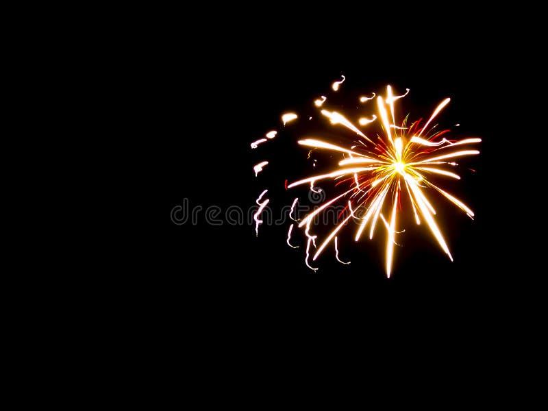 Abstrakcjonistyczny tło fajerwerków pluśnięcie światło i fotografia royalty free