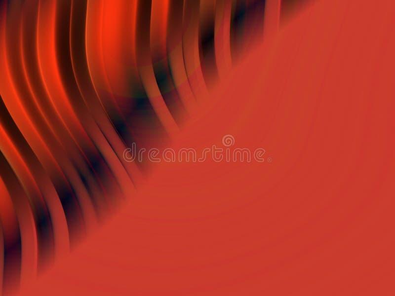 abstrakcjonistyczny tło falisty ilustracja wektor