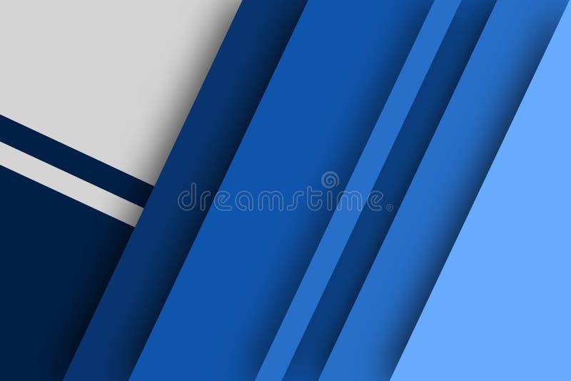 Abstrakcjonistyczny tło imituje kolor paletę błękit, desi ilustracja wektor