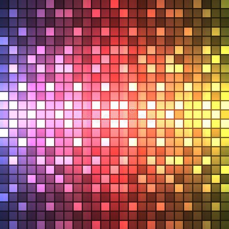 Abstrakcjonistyczny tło kolorowy ilustracji