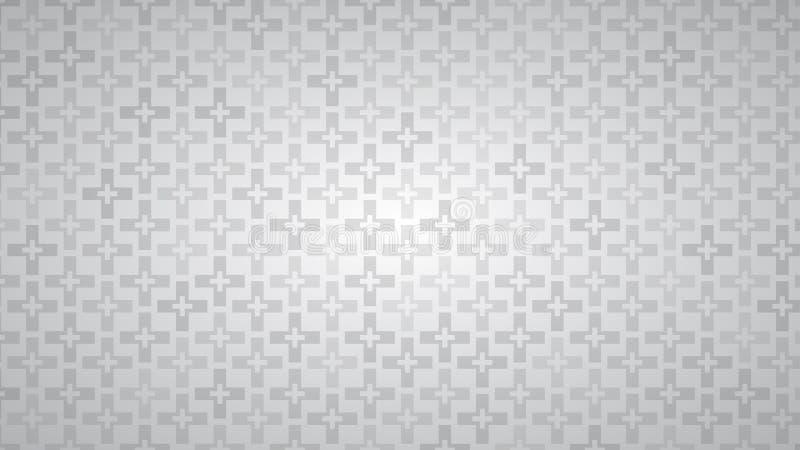 Abstrakcjonistyczny tło krzyże ilustracja wektor