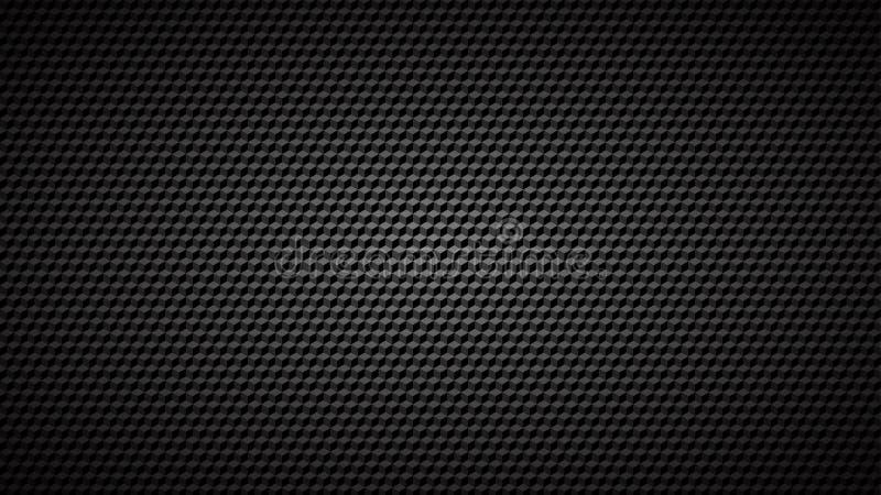 Abstrakcjonistyczny tło mali isometric sześciany ilustracji