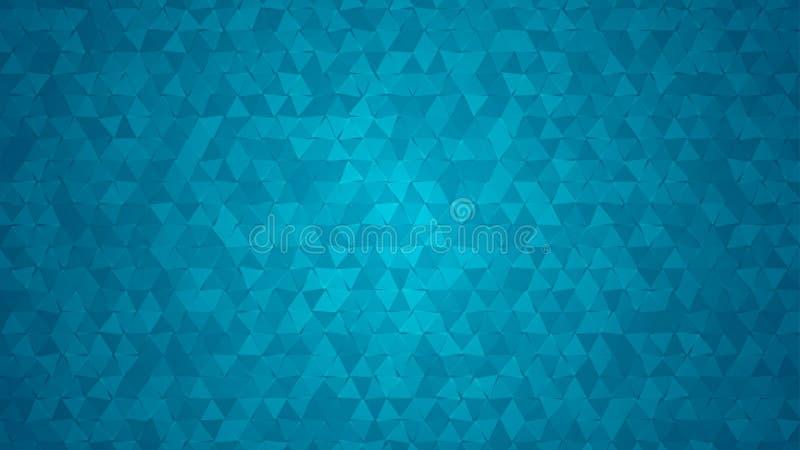 Abstrakcjonistyczny tło mali trójboki ilustracja wektor