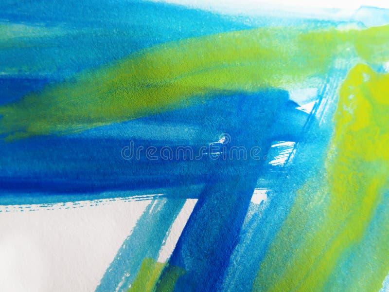 abstrakcjonistyczny tło malująca akwarela obrazy stock