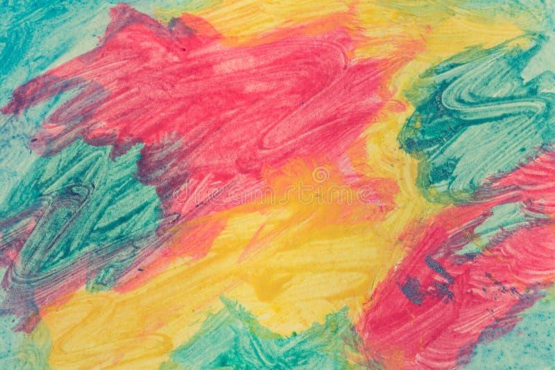 abstrakcjonistyczny tło malująca akwarela obrazy royalty free