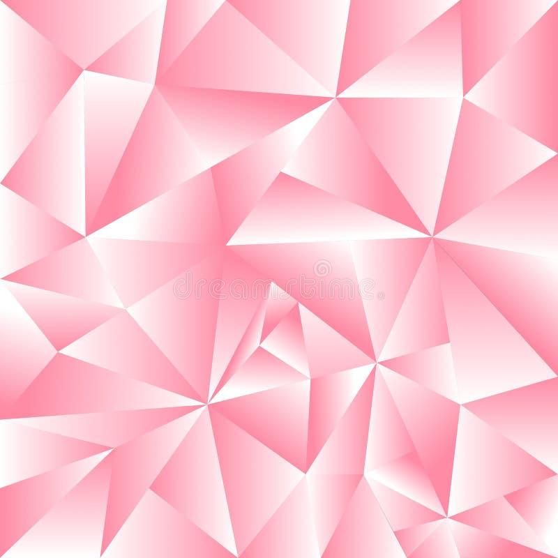 Abstrakcjonistyczny tło menchii trójboka use jako tło zdjęcie royalty free