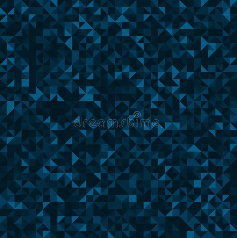 Abstrakcjonistyczny tło od trójboków zdjęcie stock