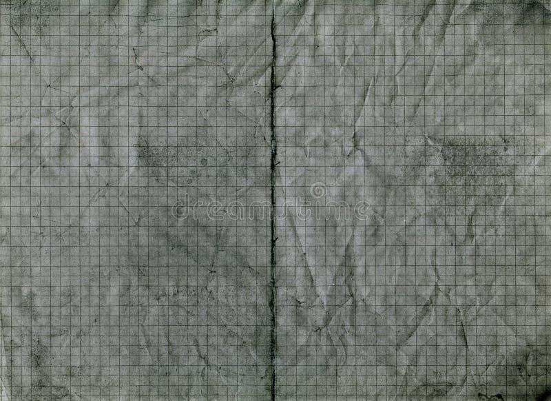 Abstrakcjonistyczny tło, ręcznie malowany tekstura, stara szarość miący papier, sprawdzać notatnik obraz royalty free