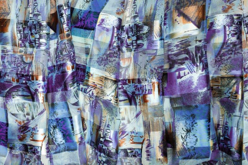 Abstrakcjonistyczny tło robić płótno obrazy stock