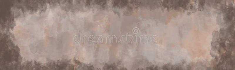 Abstrakcjonistyczny tło, rocznik tekstura z granicą royalty ilustracja