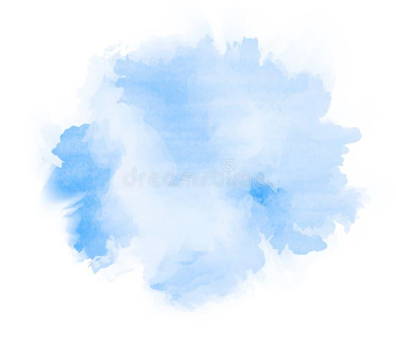 abstrakcjonistyczny tło rysująca ręki akwarela Grunge tekstura dla ca royalty ilustracja