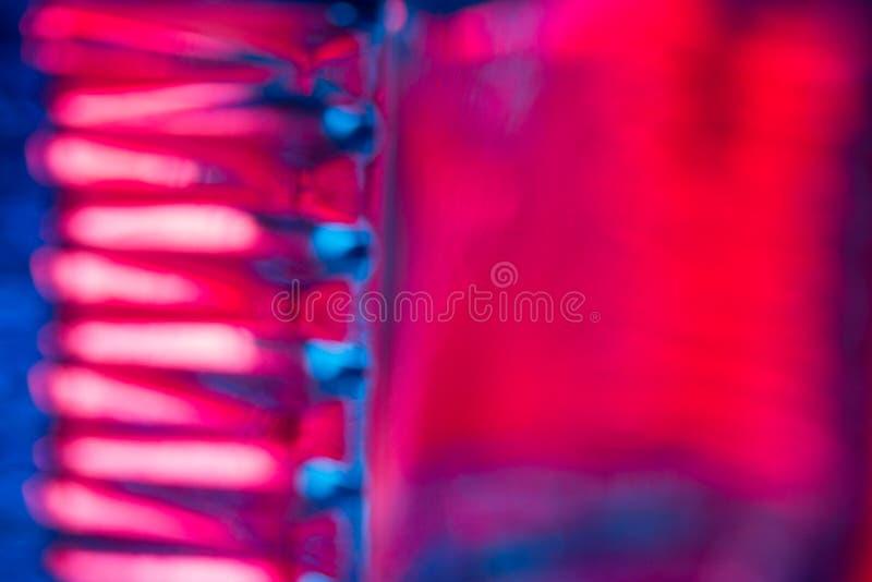 abstrakcjonistyczny tło w neonowym świetle obrazy stock