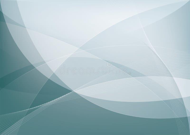 Abstrakcjonistyczny tło, wektorowy szablon royalty ilustracja