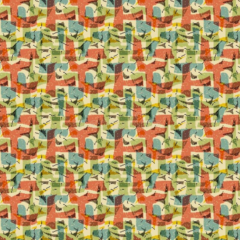 abstrakcjonistyczny tło wzór ilustracja wektor