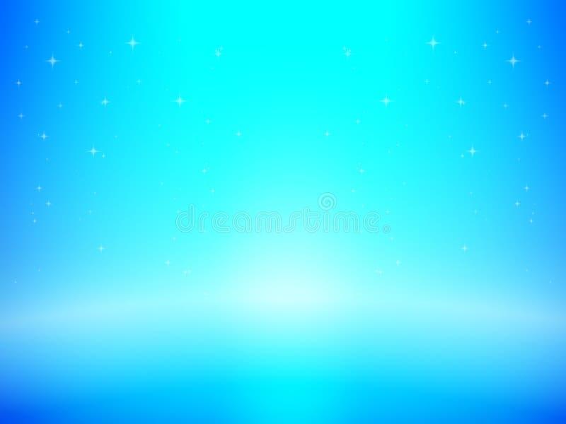 Abstrakcjonistyczny tło z światowego projekta błękitnego lekkiego koloru i royalty ilustracja