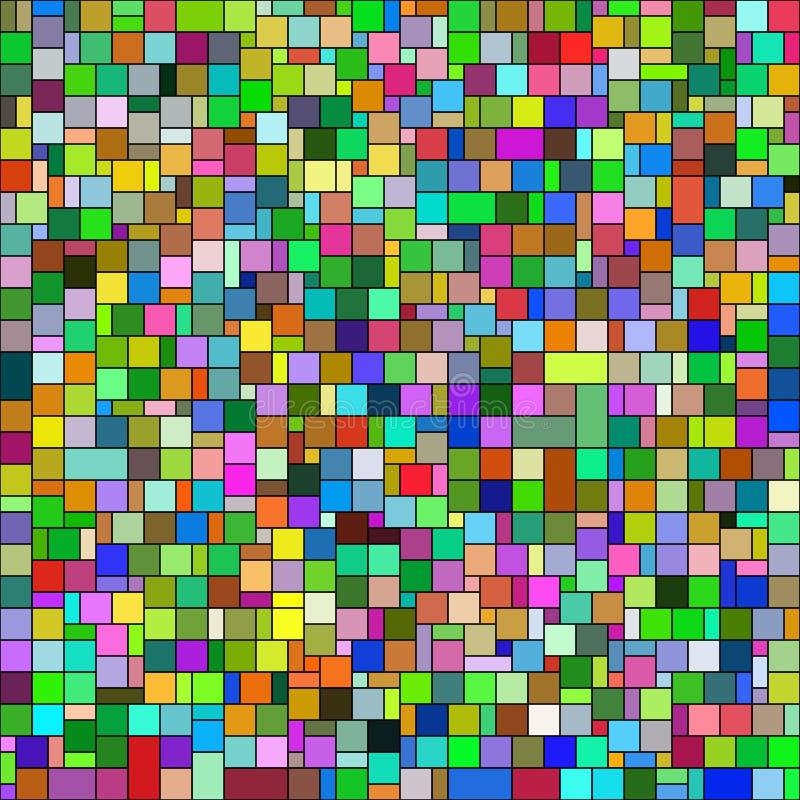 Abstrakcjonistyczny tło z abstrakcjonistycznymi kształtami wektor 10 ilustracji