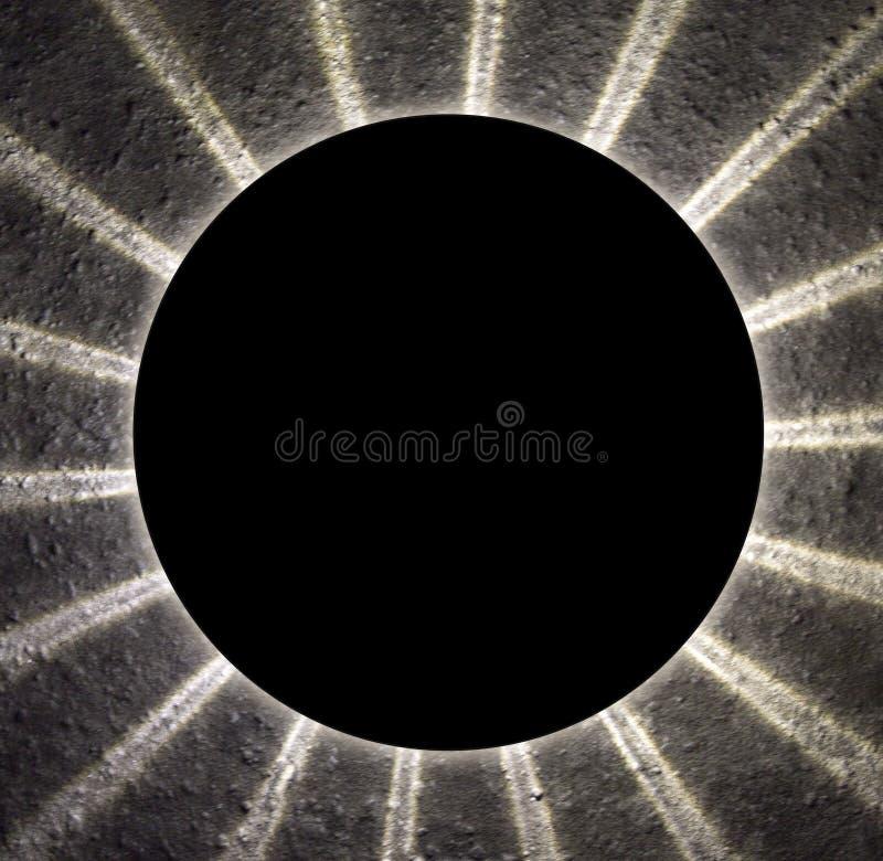 Abstrakcjonistyczny tło z lekkimi promieniami lub promieniami zdjęcia stock