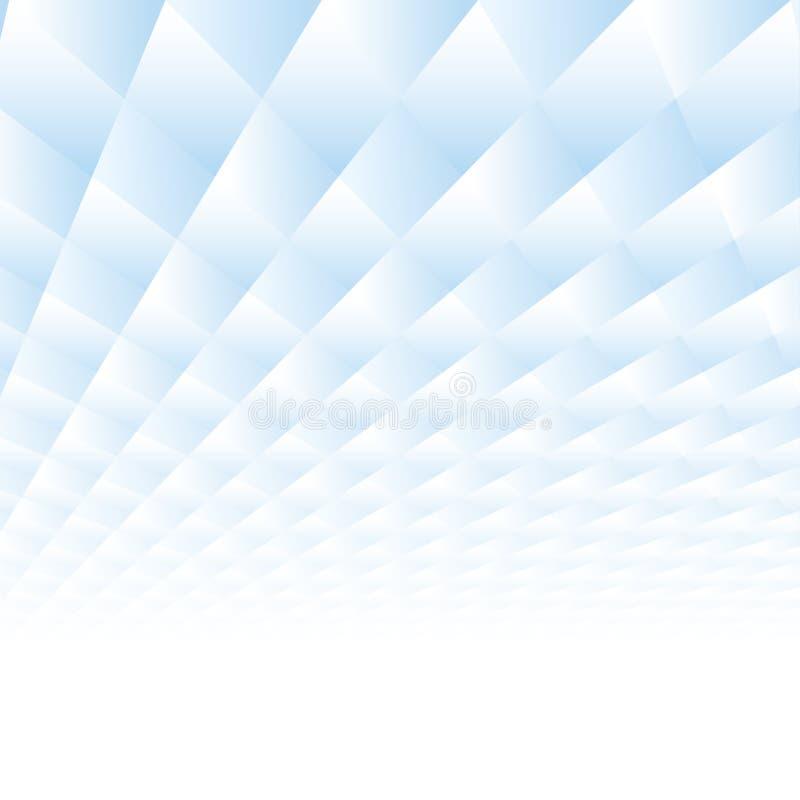 Abstrakcjonistyczny tło z perspektywą Gradientowi geometryczni kształty ilustracji
