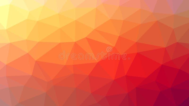 """Abstrakcjonistyczny tło z trójbokami Raster â """"– 1 ilustracja wektor"""