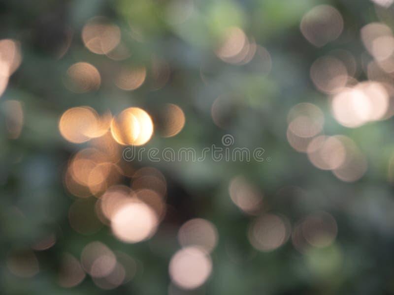 Abstrakcjonistyczny tło zaświeca bokeh zdjęcia royalty free
