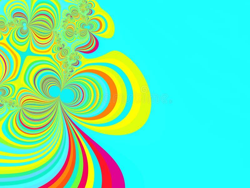 Download Abstrakcjonistyczny Tła Bazy Fractal Ilustracji - Ilustracja złożonej z fantastyczny, promień: 13326913