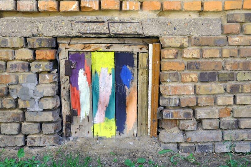 abstrakcjonistyczny t?a grunge tekstury drewno Deski maza? z farb? obraz stock