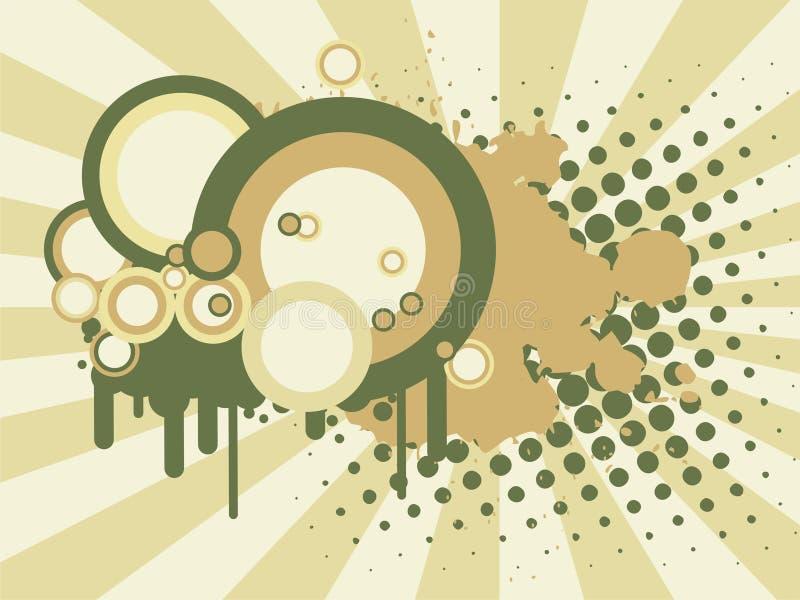 Download Abstrakcjonistyczny tło ilustracja wektor. Ilustracja złożonej z przeciek - 13339866