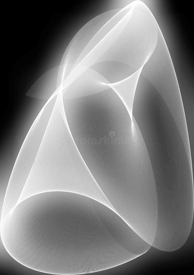 Abstrakcjonistyczny tło biel