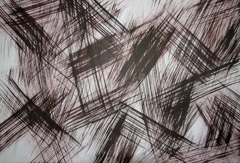Abstrakcjonistyczny t?o - sztuka Światło główne atrakcje na metalu Odróżniający wizerunek Limitowana paleta u?ywa obrazy stock