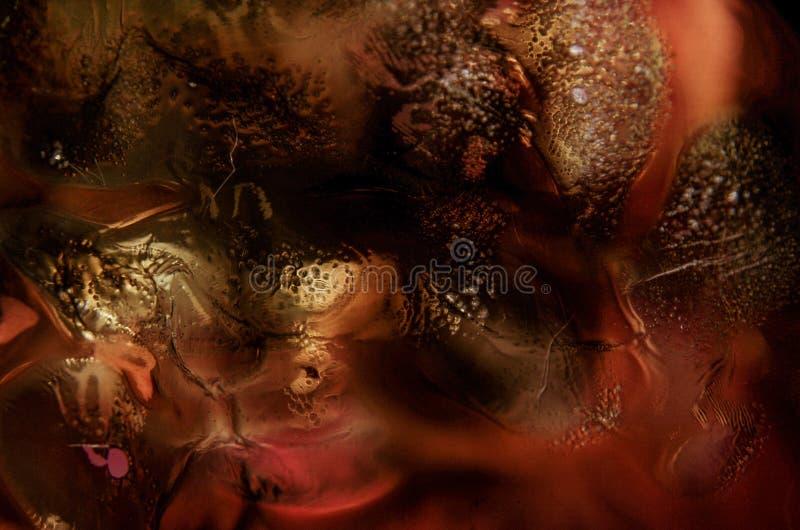 Abstrakcjonistyczny t?o w antykwarskim kolorze zdjęcie stock