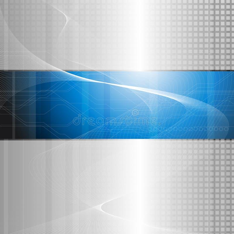 Abstrakcjonistyczny technologia skład ilustracja wektor