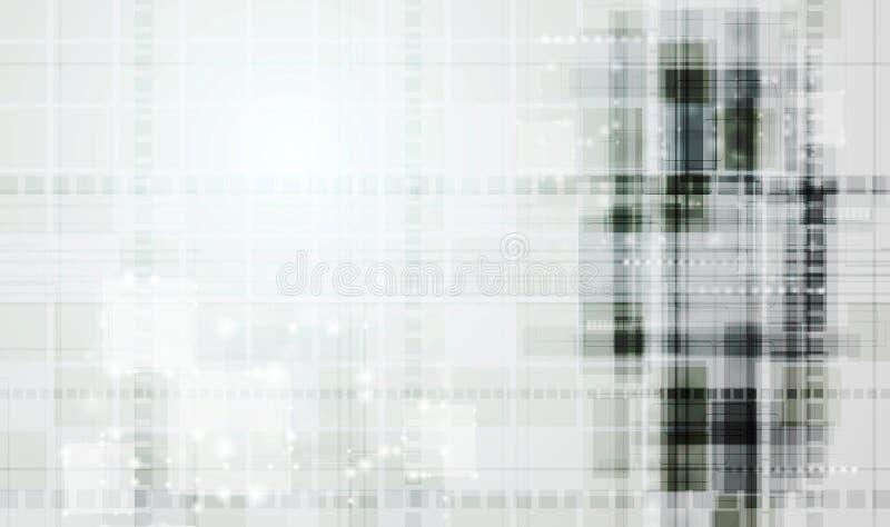 Abstrakcjonistyczny technologia wektoru tło royalty ilustracja