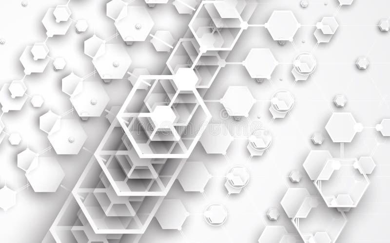 Download Abstrakcjonistyczny Technologii Tła Biznes & Rozwoju Kierunek Ilustracja Wektor - Ilustracja złożonej z ilustracje, informacja: 57657356
