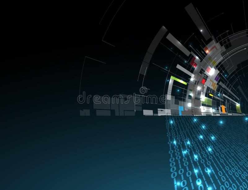 Download Abstrakcjonistyczny Technologii Tła Biznes & Rozwoju Kierunek Ilustracja Wektor - Ilustracja złożonej z geometryczny, ewolucja: 57657609