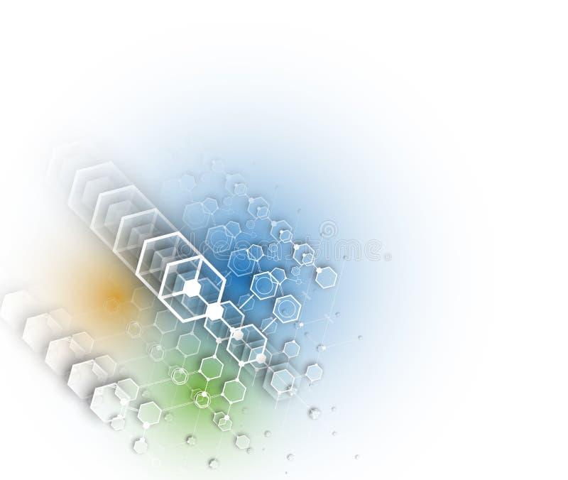 Download Abstrakcjonistyczny Technologii Tła Biznes & Rozwoju Kierunek Ilustracji - Ilustracja złożonej z cogwheel, przemysł: 57657706