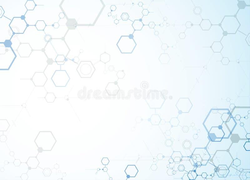 Download Abstrakcjonistyczny Technologii Tła Biznes & Rozwoju Kierunek Ilustracja Wektor - Ilustracja złożonej z ilustracje, interfejs: 57657712