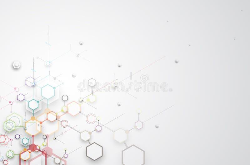 Download Abstrakcjonistyczny Technologii Tła Biznes & Rozwoju Kierunek Ilustracji - Ilustracja złożonej z komunikacja, tło: 57657912