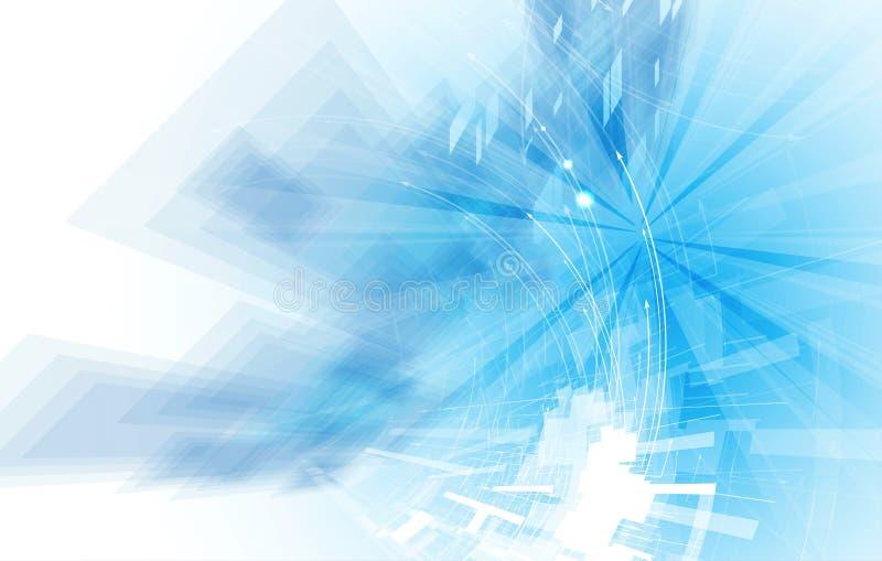 Download Abstrakcjonistyczny Technologii Tła Biznes & Rozwoju Kierunek Ilustracja Wektor - Ilustracja złożonej z interfejs, integracja: 57658009
