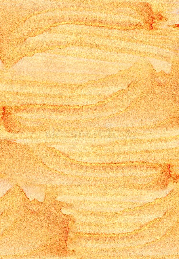 Abstrakcjonistyczny textureof leje się złoto fotografia stock