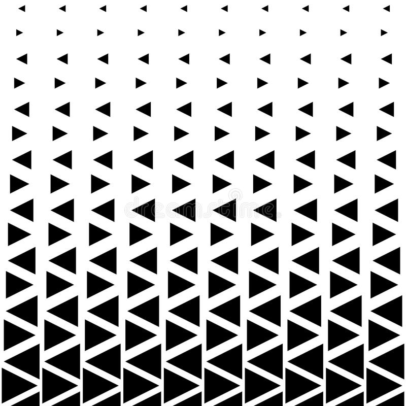 Abstrakcjonistyczny trójboka wzór ilustracji