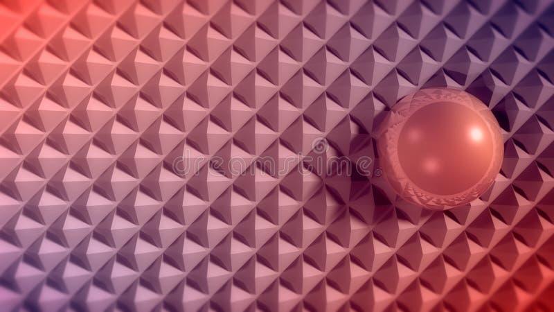 Abstrakcjonistyczny ulgi powierzchni t?o ilustracja wektor