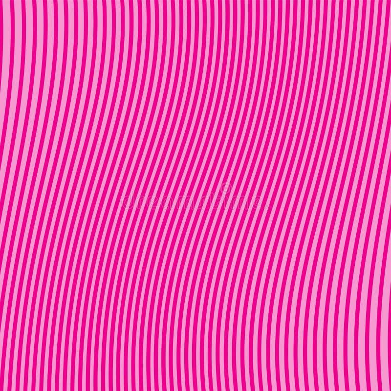 Abstrakcjonistyczny vertical paskuj?cy wz?r Menchie T?o dla tapety, strona internetowa, nawierzchniowe tekstury Wektorowa ilustra ilustracji