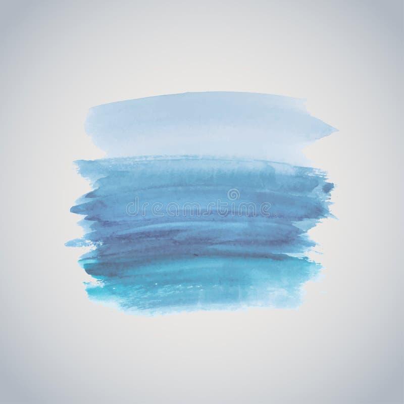 Abstrakcjonistyczny watercolour, aquarelle grunge tło/ ilustracja wektor
