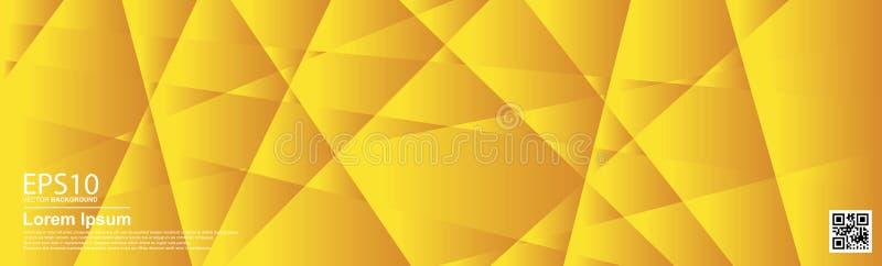 Abstrakcjonistyczny wektorowy geometryczny kolorowy deseniowy tło Pomarańcze, plakat/, sztandaru szablon ilustracja wektor