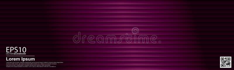 Abstrakcjonistyczny wektorowy geometryczny kolorowy deseniowy tło Zmrok menchie, plakat/, sztandaru szablon ilustracja wektor